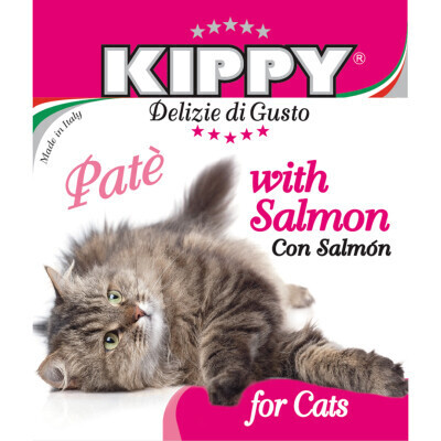 KIPPY FOR CATS PATE WITH SALMON 400g