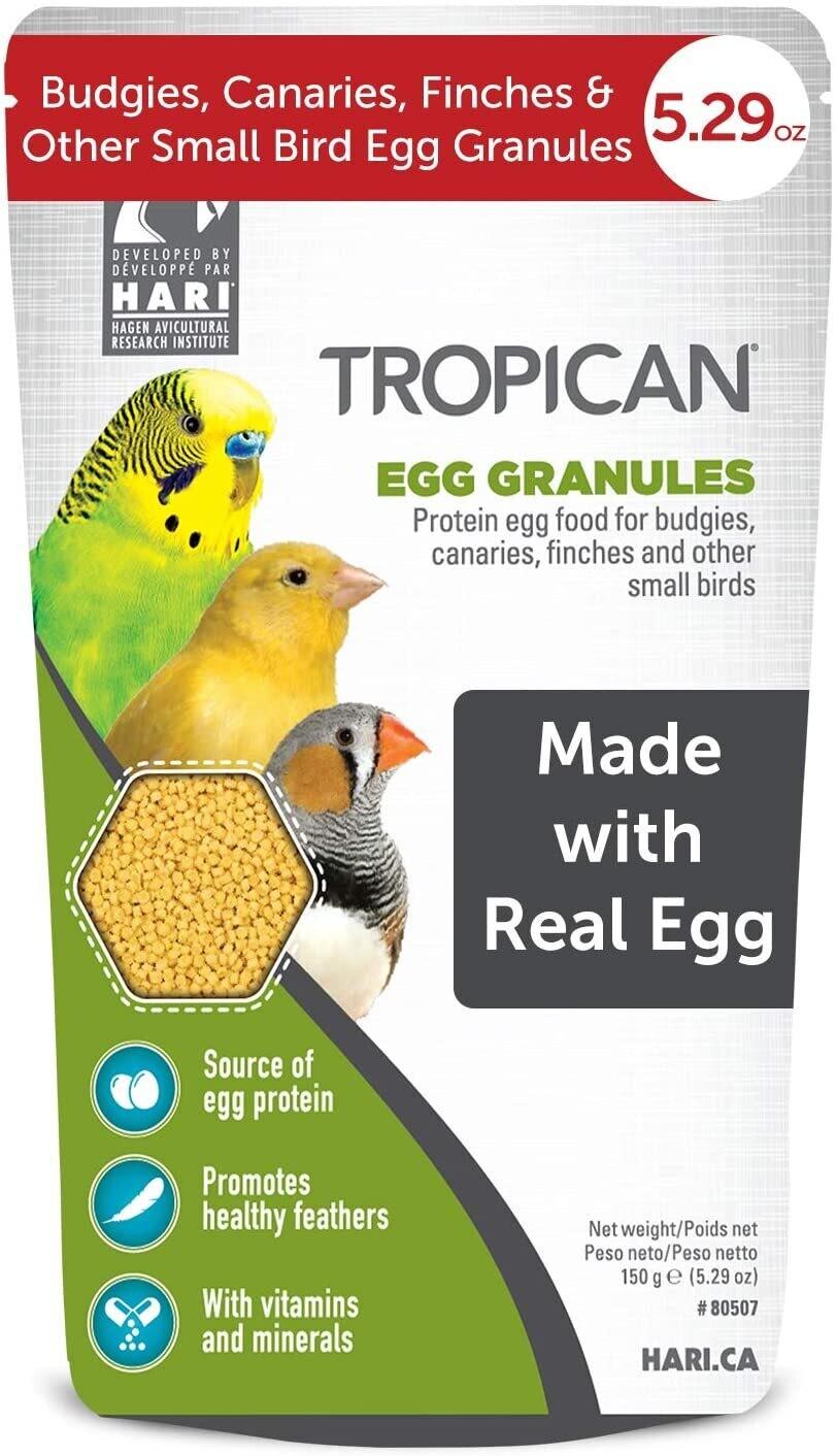 Tropican Egg Granules 150g