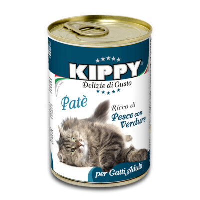 KIPPY FOR CATS PATE WITH FISH & VEGETABLES 400g