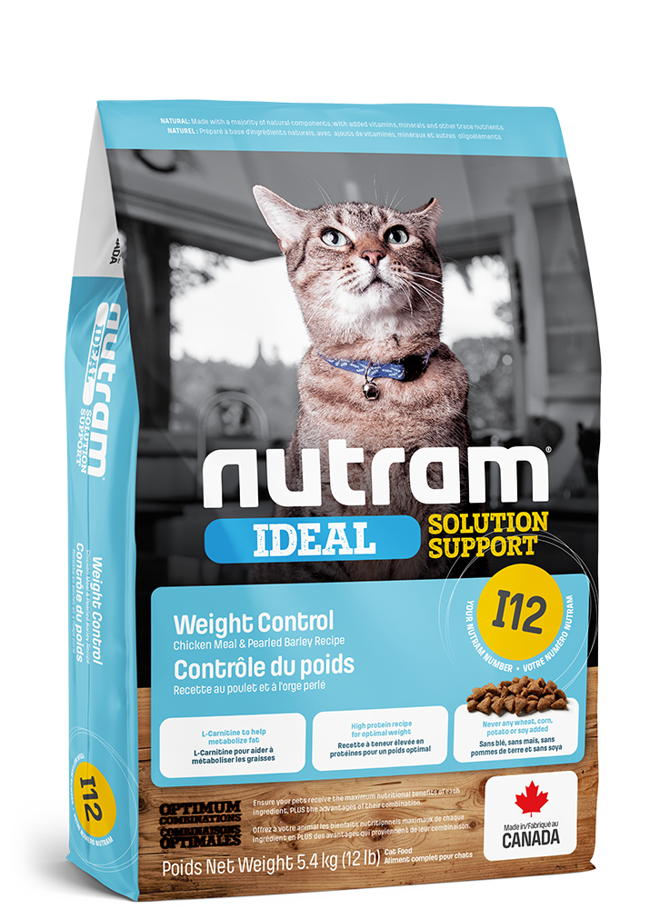 NUTRAM CAT IDEAL I12 WEIGHT CONTROL 5.4kg