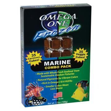 Omega One Marine Combo Pack (frozen) - 3.5 oz cube