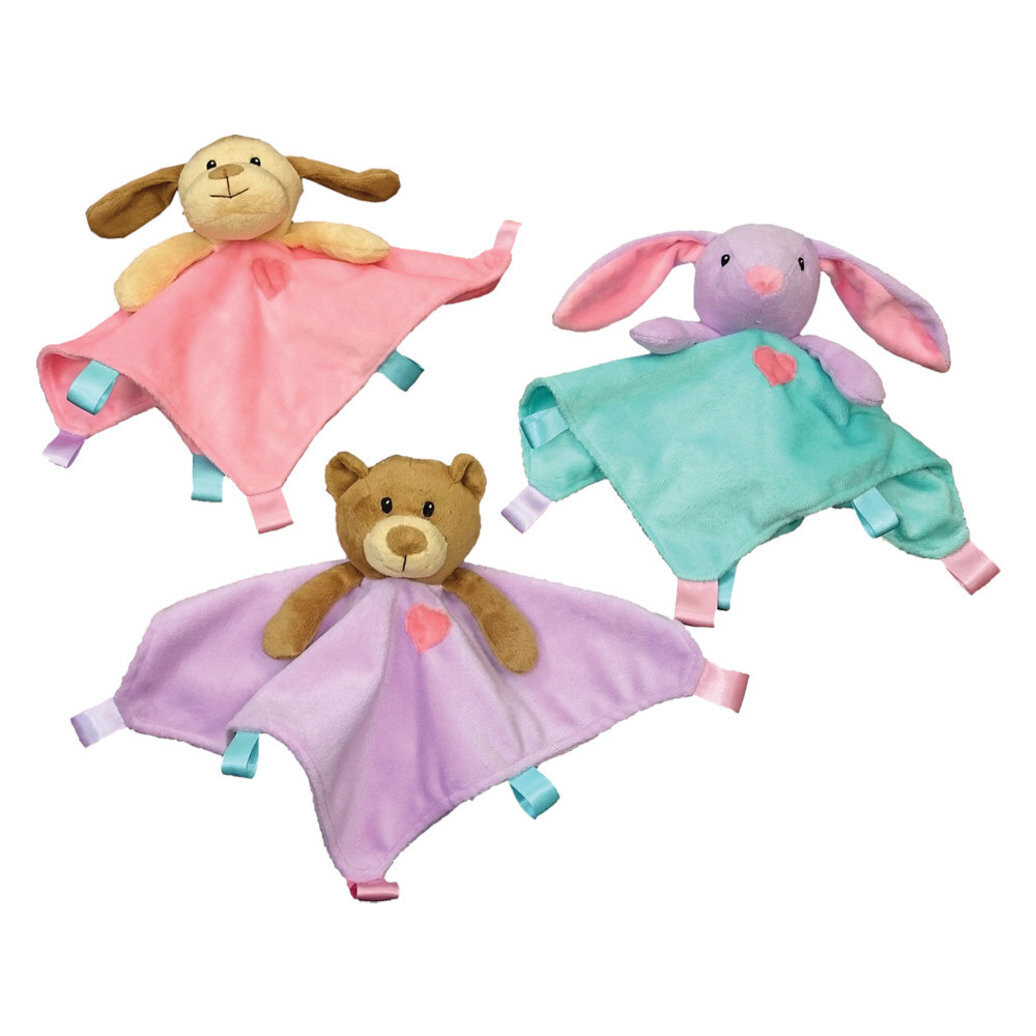 """SPOT SOOTHERS 10"""" BLANKET TOY"""