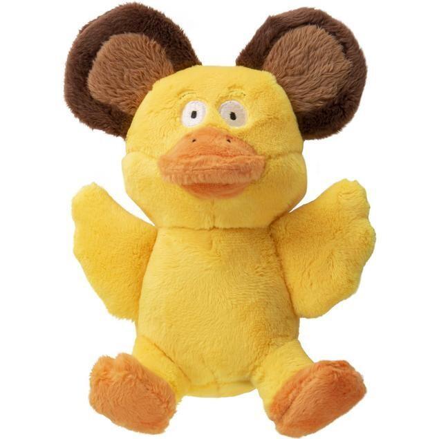goDog Silent Squeak - Duck Bear Small