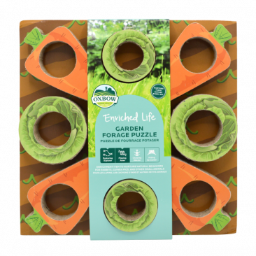 OXBOW ENRICHED LIFE GARDEN FORAGE PUZZLE