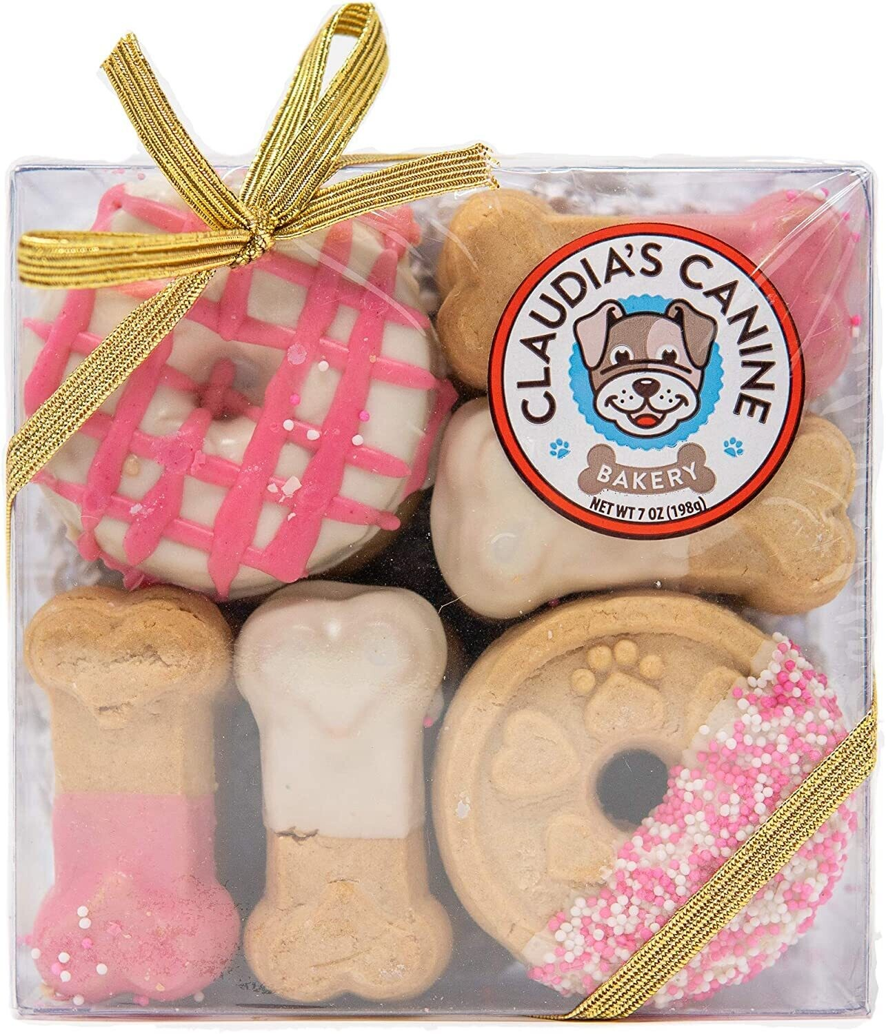 CLAUDIA'S CANINE - PINK PASSION COOKIE BOX