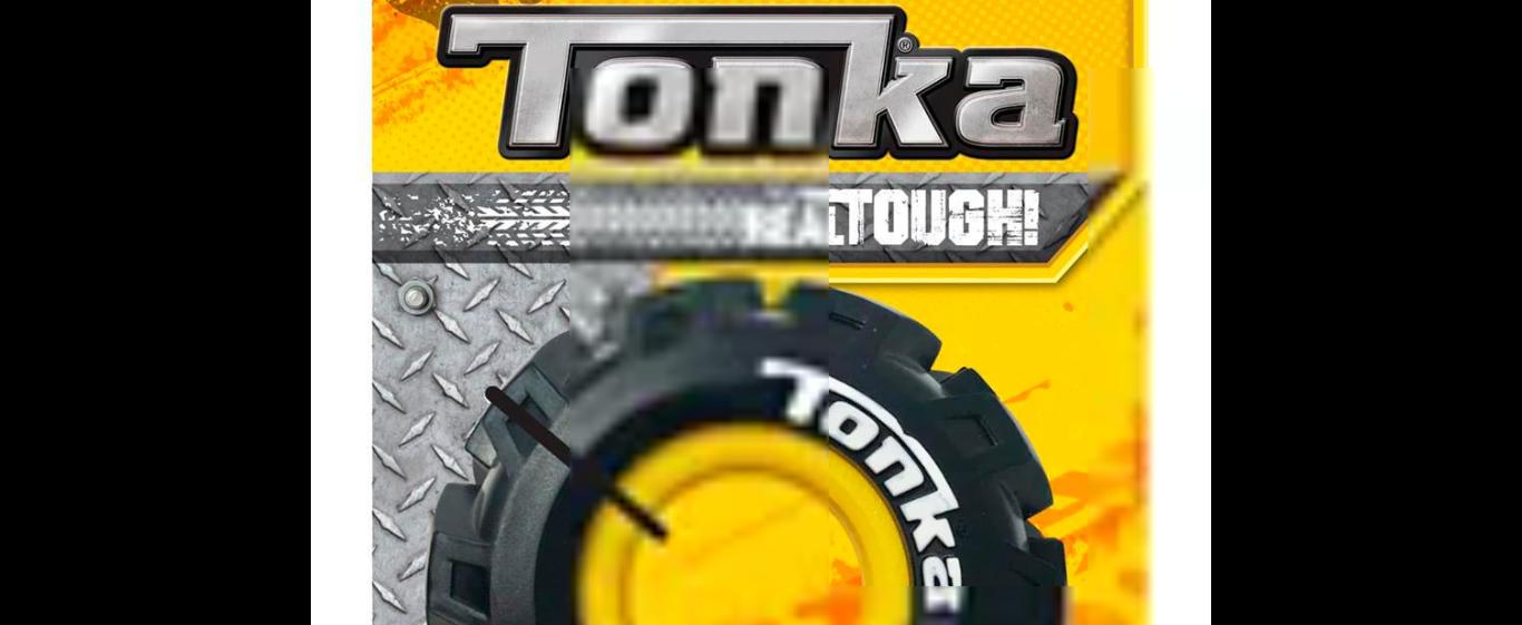 "TONKA Seismic Tread Tire 5"""
