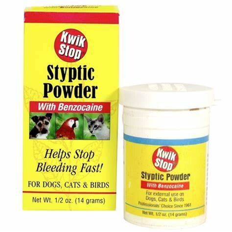 Kwik Stop Antiseptic Blood Stopper Styptic Powder 14 g