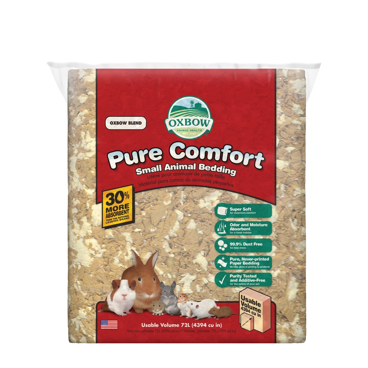 OXBOW PURE COMFORT BEDDING - BLEND 72L