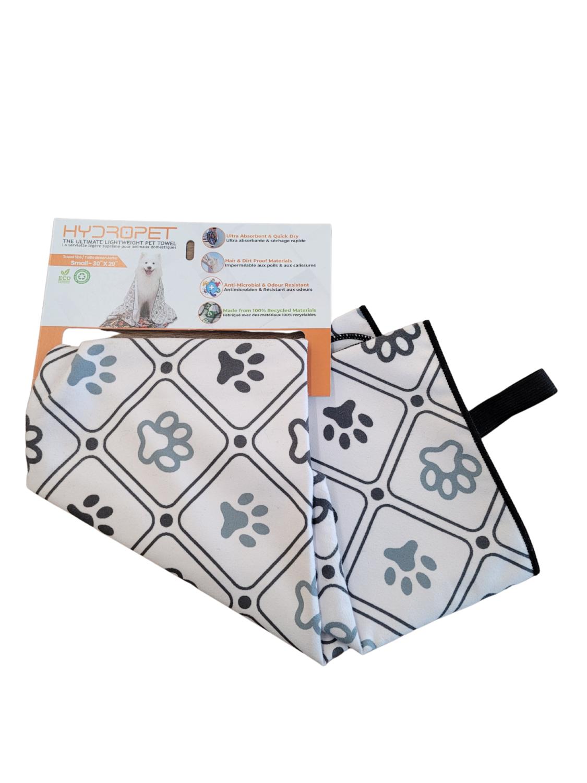 HydroPet Towel Paw Print Small