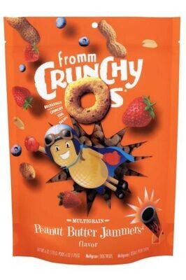 FROMM CRUNCHY O'S - PEANUT BUTTER JAMMERS 6oz
