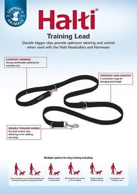 Halti Training Lead Large Black