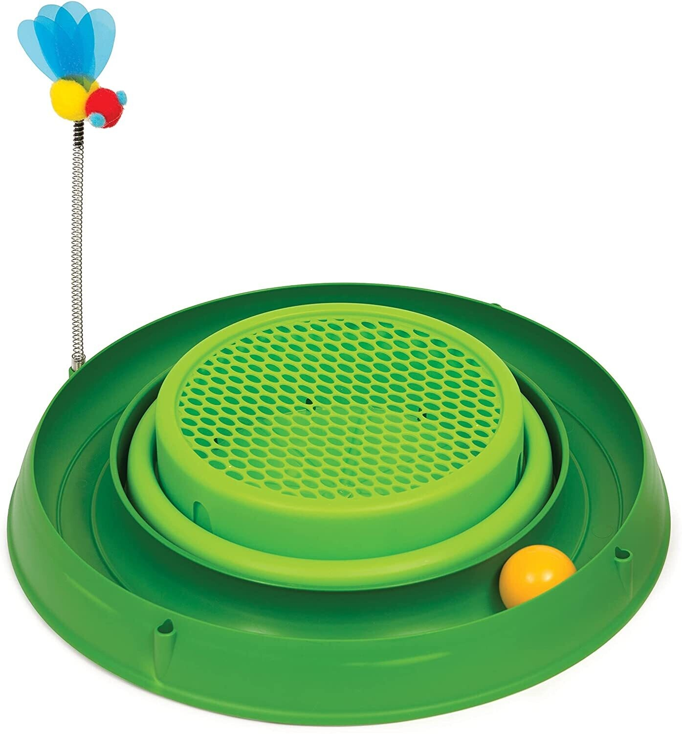 Catit Play 3 in 1 Circuit Ball Toy with Grass