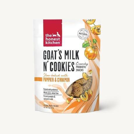 The Honest Kitchen Goat's Milk Cookies Pumpkin 227g