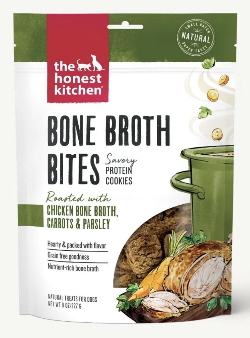 The Honest Kitchen Bone Broth Bites Chicken 227g
