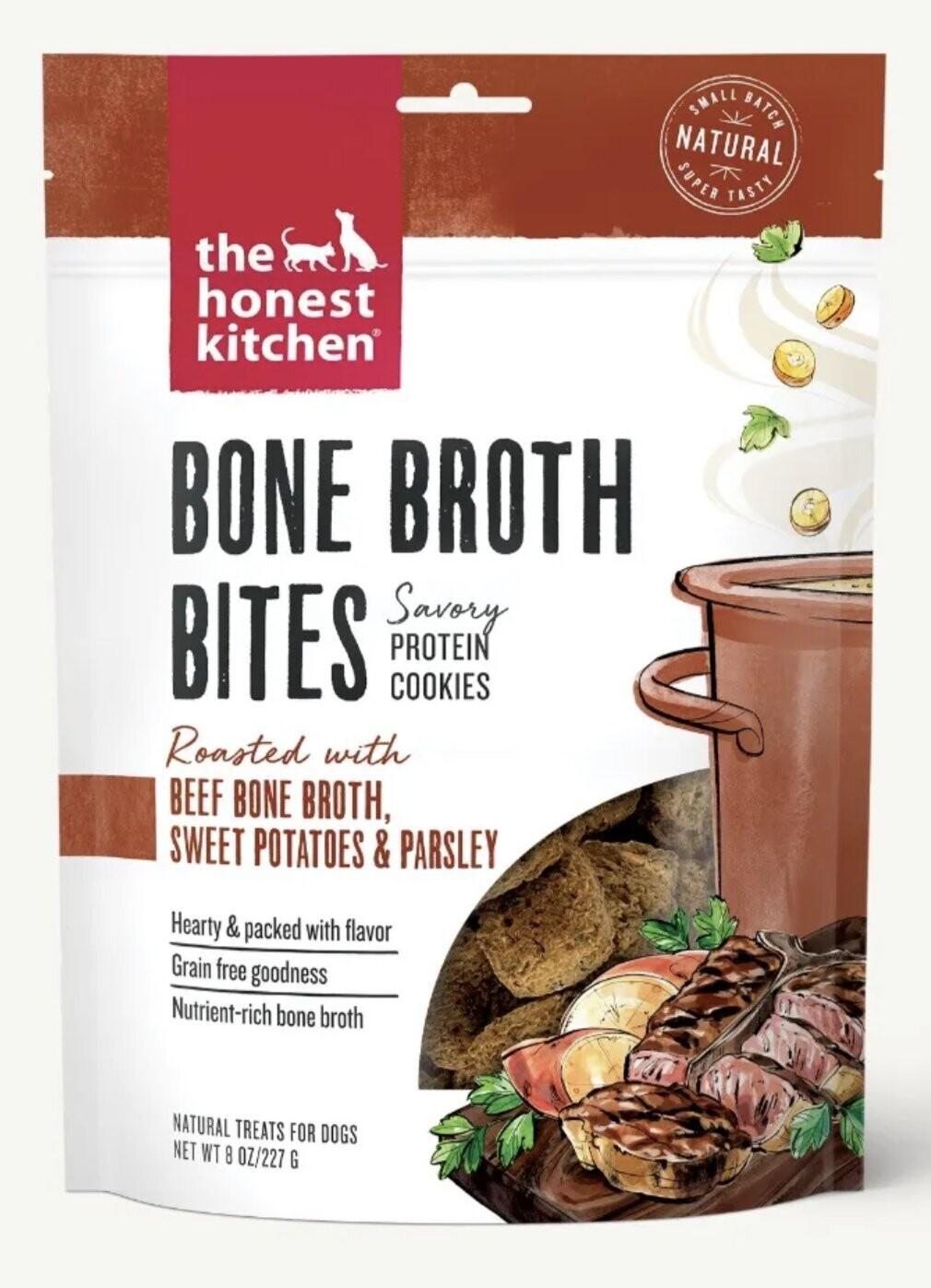 The Honest Kitchen Bone Broth Bites Beef 227g