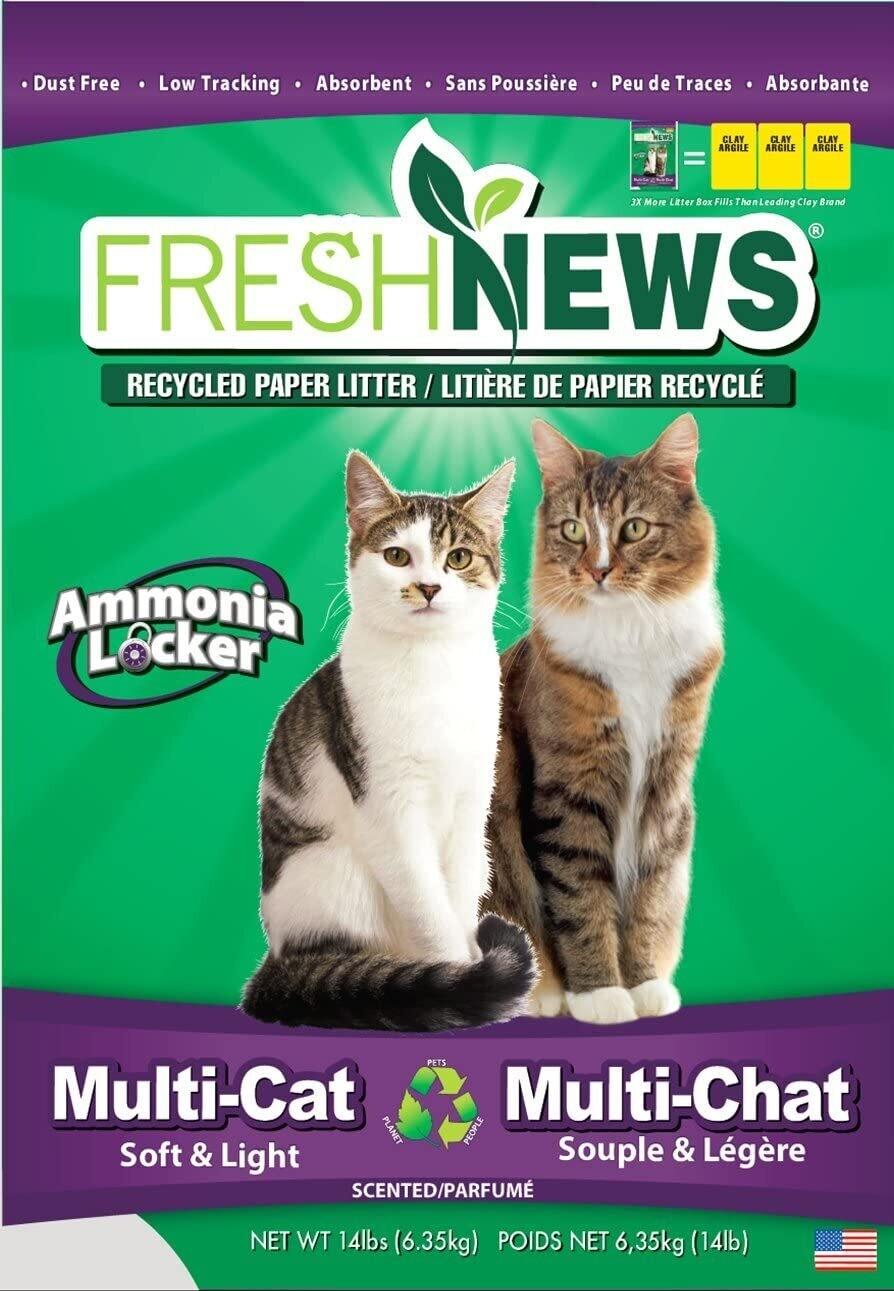 Fresh News Multi-Cat Litter