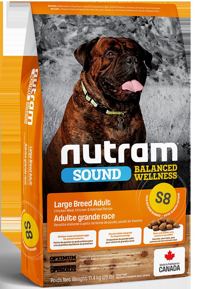 NUTRAM S8 LARGE BREED ADULT 11.4kg