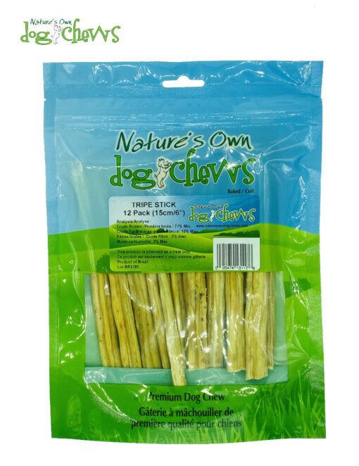Nature's Own Tripe Sticks (12 Pack)