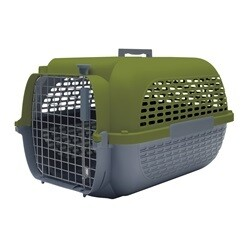 """DOGIT VOYAGEUR CARRIER LARGE 24.3"""" x 16.7"""" x 14.5"""" GREEN"""