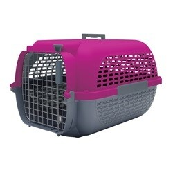 """DOGIT VOYAGEUR CARRIER SMALL 19"""" x 12.8"""" x 11"""" PINK"""