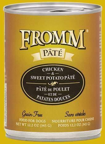 Fromm Pate Chicken & Sweet Potato 12.2oz