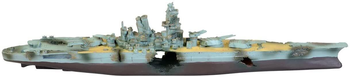 Underwater Treasures Navy Battleship