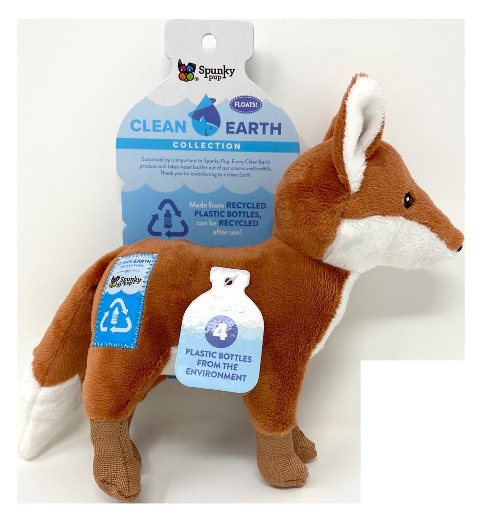 SPUNKY PUP CLEAN EARTH FOX SMALL