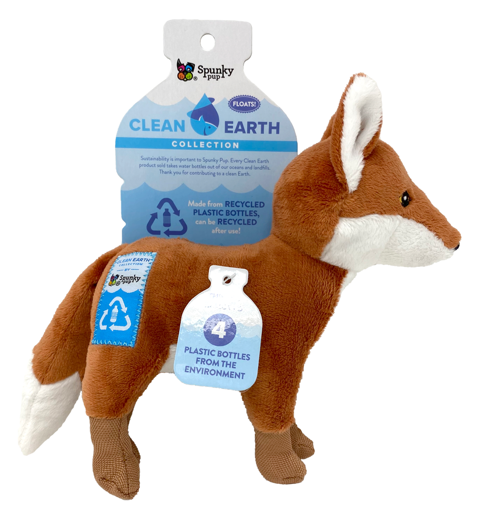 SPUNKY PUP CLEAN EARTH FOX LARGE