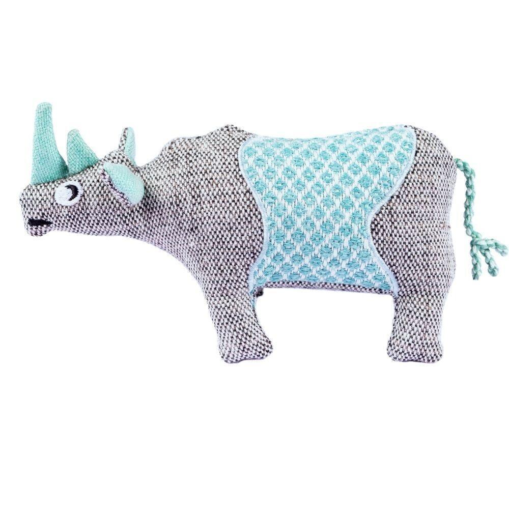 Resploot Dog Toy Black Rhino