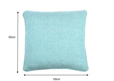 Resploot Bed - Pillow Teal Snakeskin