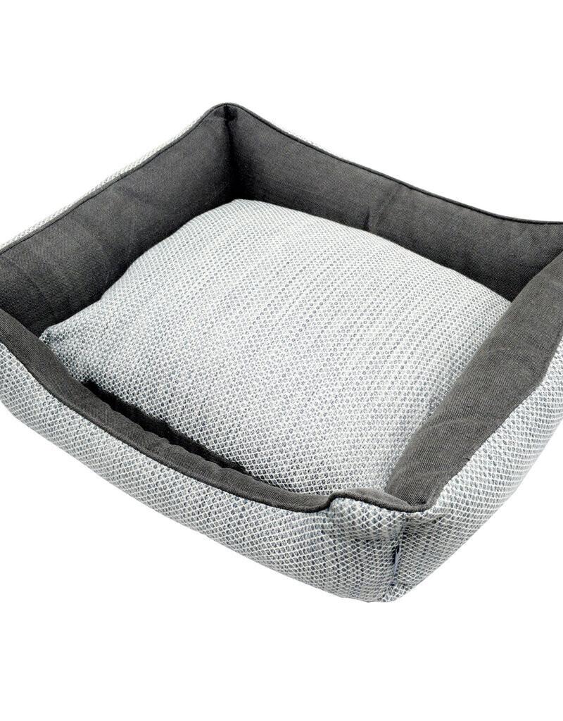 Resploot Bed - Sofa Grey Snakeskin