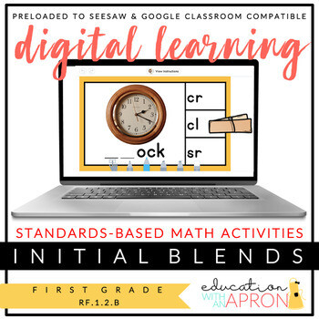 Digital Learning: Initial Blends Practice for Seesaw and Google Apps