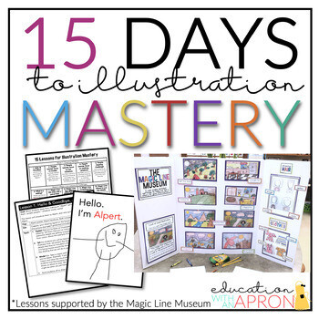 15 Days to ILLUSTRATION Mastery- Digital + Printable Distance Learning