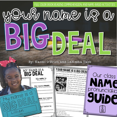 Your Name is a BIG DEAL!