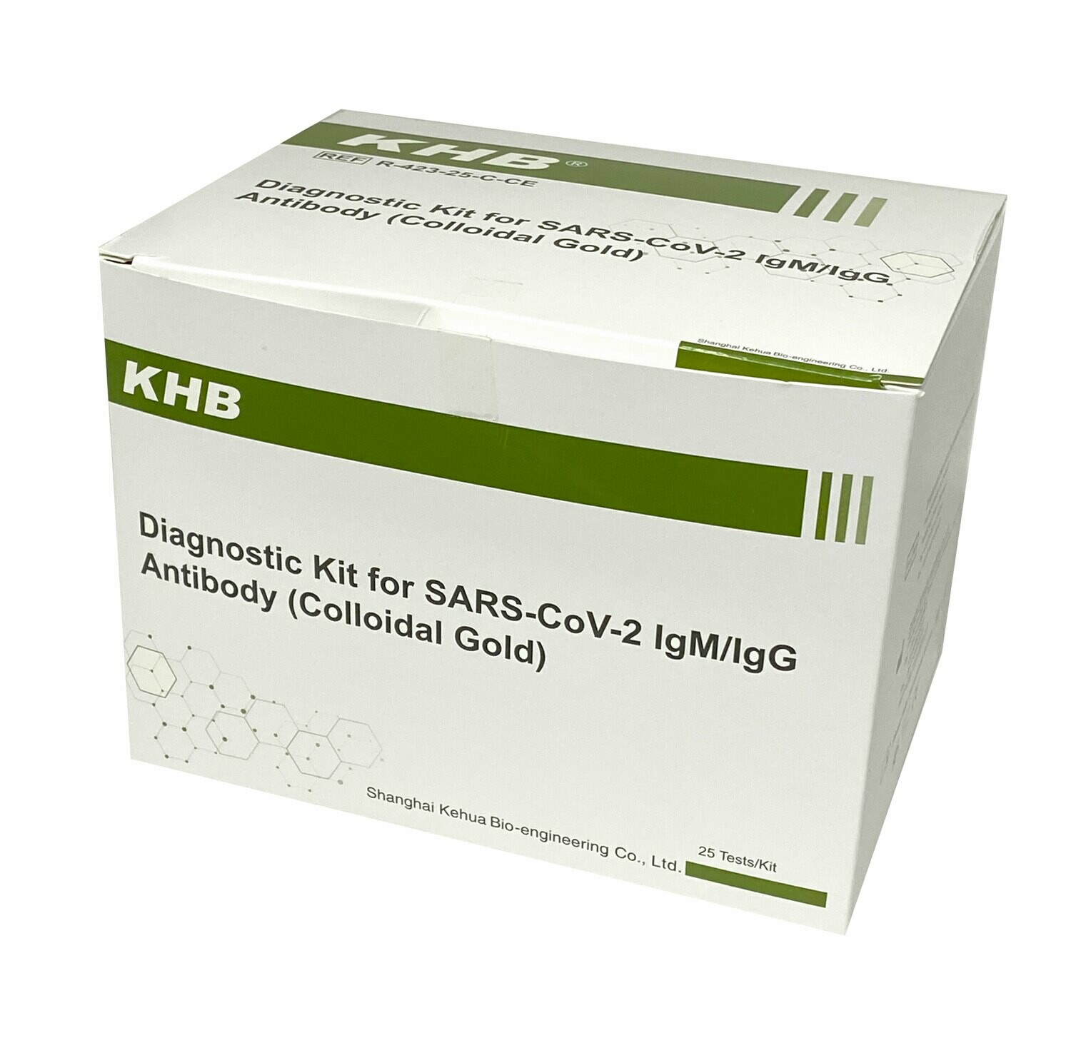 BOX 25 TEST KITS FOR COVID-19 VIRUS AND SARS-CoV-2 ANTIBODY - ONLY $35 (P/C)