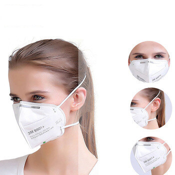 3M 9501+ Particulate Respirator Face Mask