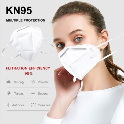 KN95 & FFP2 - Antibacterial Reusable Face Mask