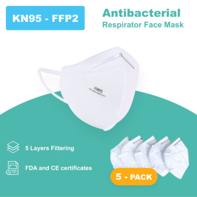 N95 - Antibacterial Reusable Face Mask - ONLY $3.00