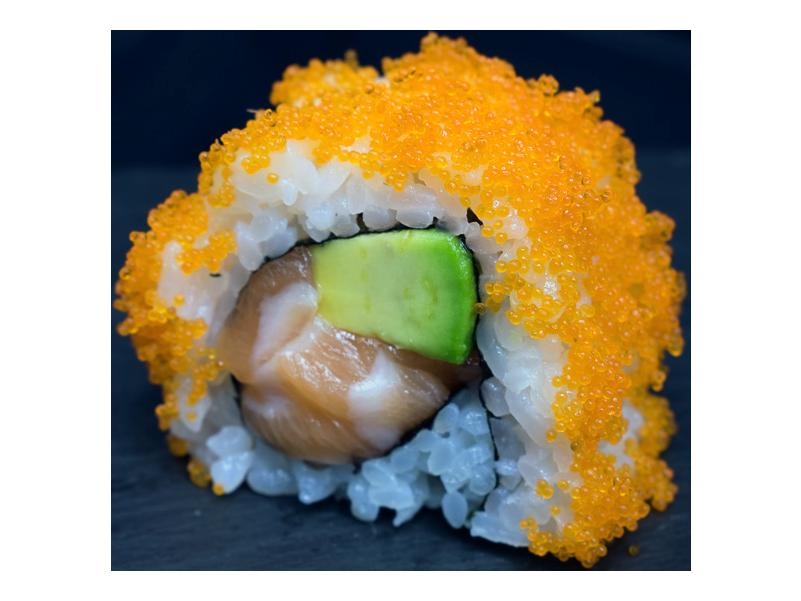 L.A.:  zalm   avocado   mayo   kuit (8 st)