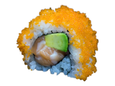 L.A .: salmon | avocado | mayo | fish roe (8 pcs)