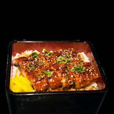 Unagi Don/ Rijst met gegrilde paling