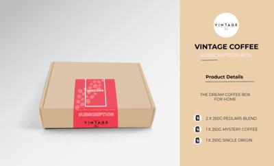 COFFEE SUBSCRIPTION BOX