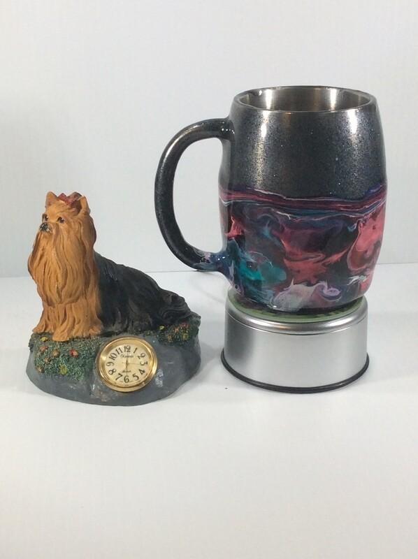 Stainless insulated coffee mug