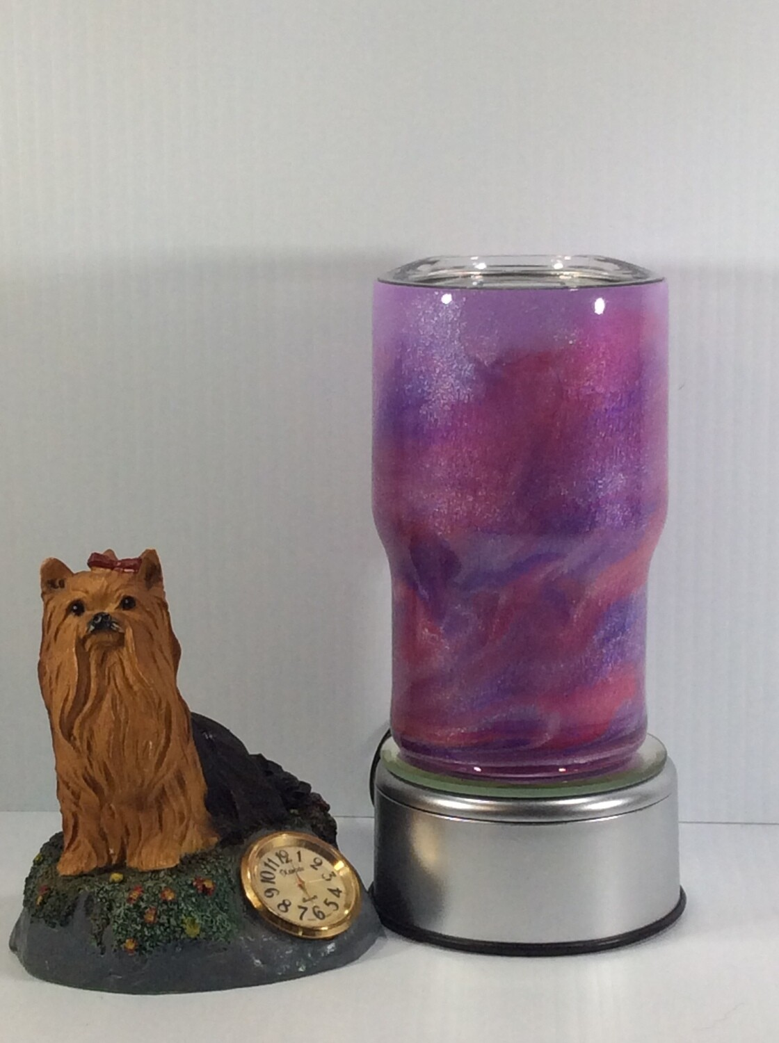 Mica stainless steel tumbler