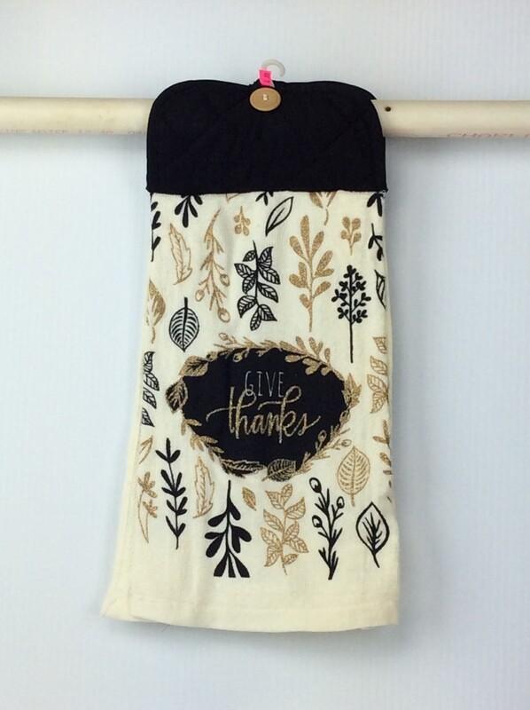 Thanksgiving Pot Holder Top Hanging Towel
