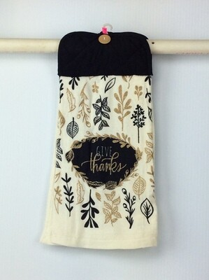 Thanksgiving Pot Holder Top Hanging Towel