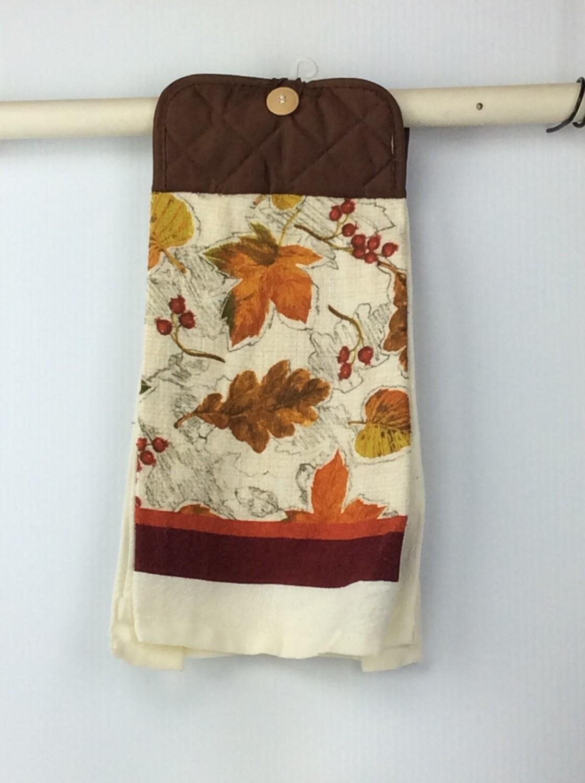 Fall leaves Pot Holder top towel