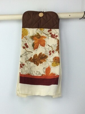 Fall leaves Pot Holder top towel