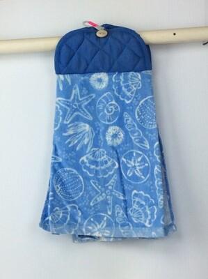 Sea life Pot Holder top towel