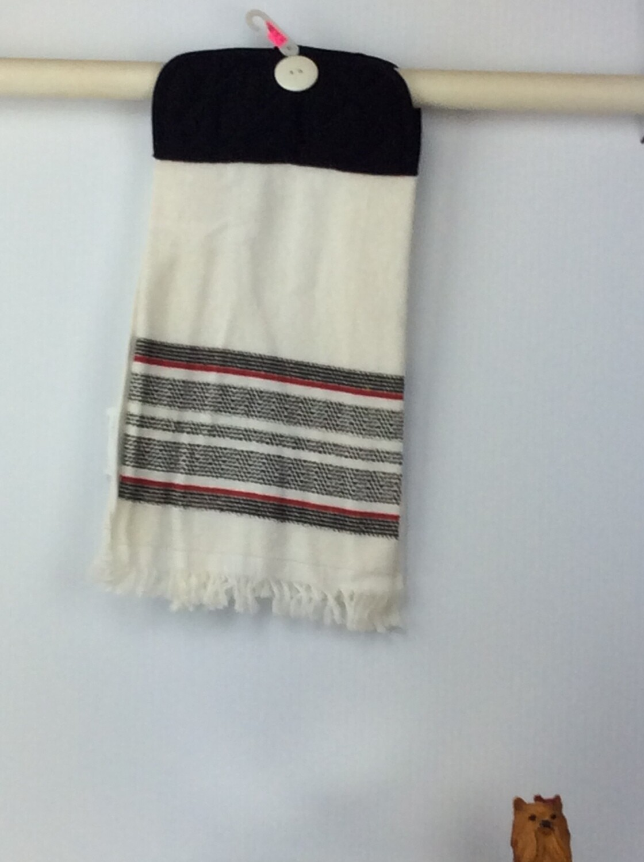 Pot Holder Grey top towel
